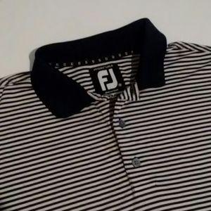 Foot joy FJ men's prodry lisle polo shirt size M